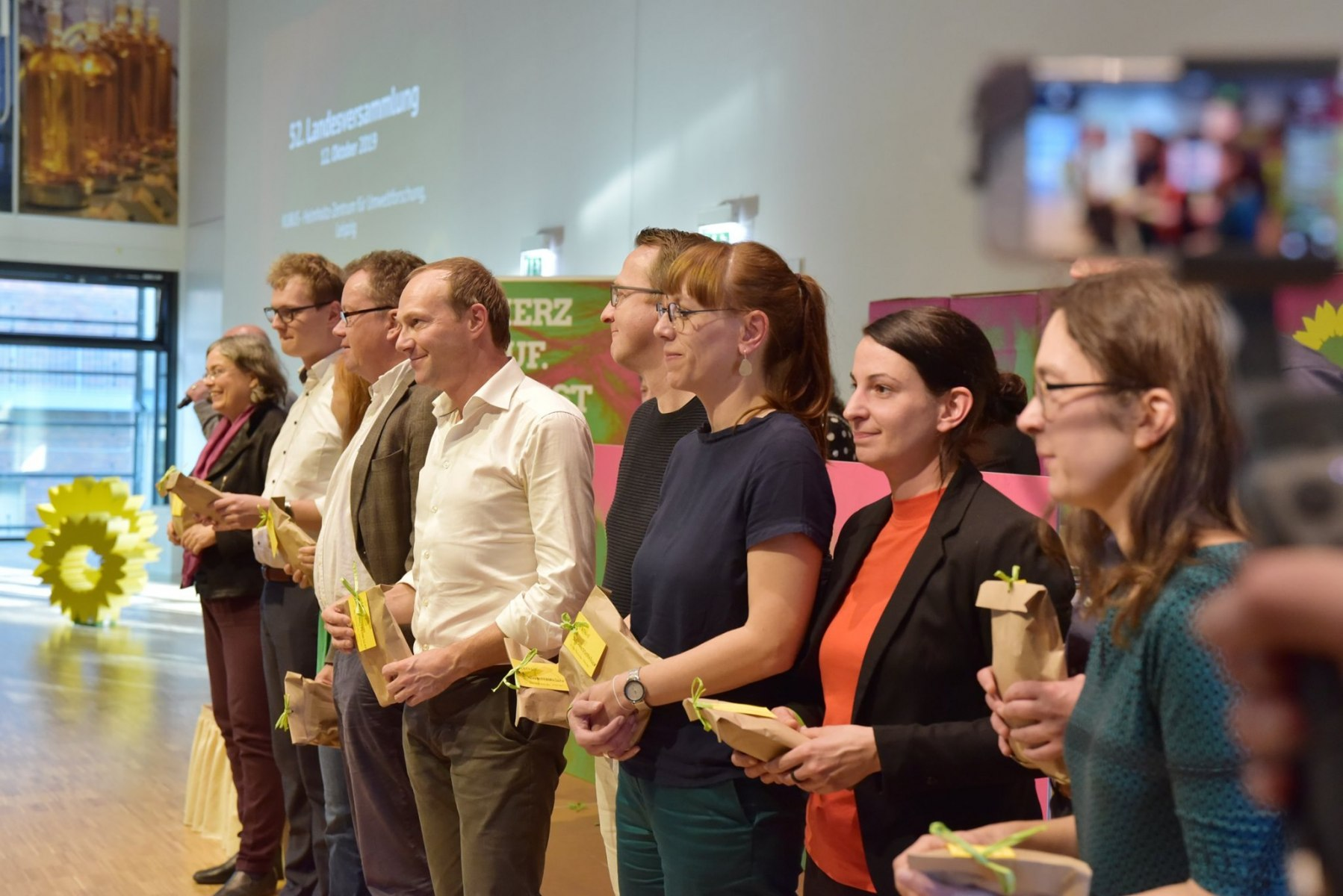 2019 - Abgeordnete der B90/DIE GRÜNEN Fraktion