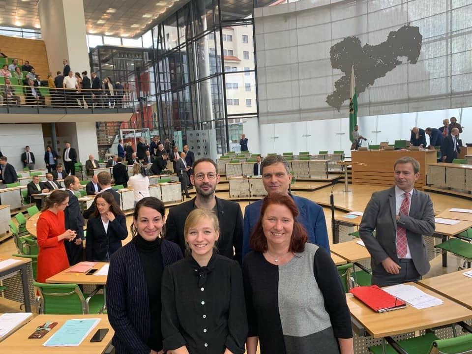 2019 - B90/DIE GRÜNEN Abgeordnete im Landtag