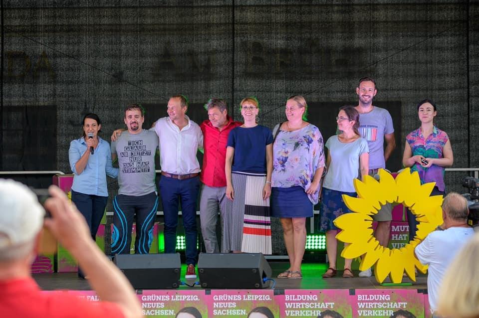 2019 - Wahlkampf zur Landtagswahl Sachsen